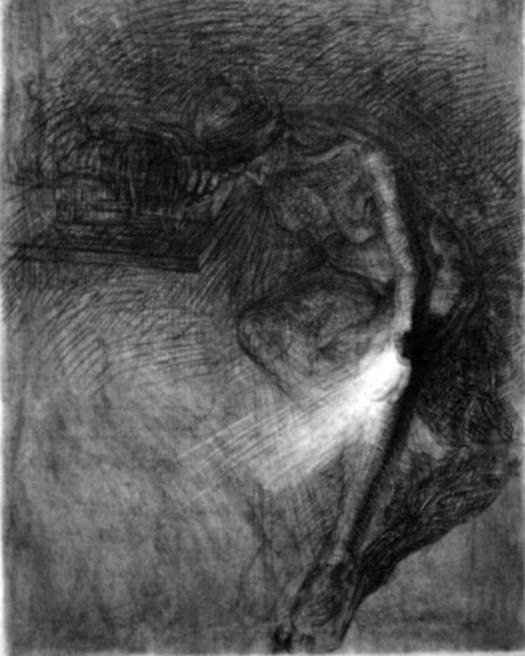 newberry_old_woman_mourning_nude_charcoal