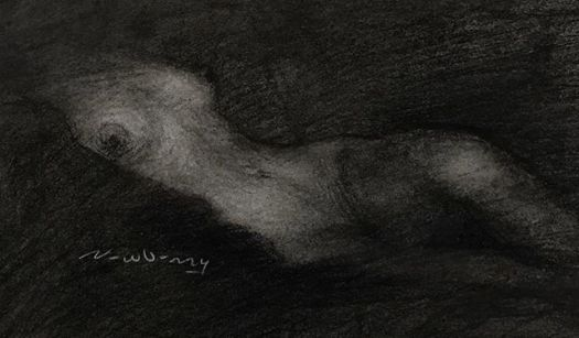 newberry_reclining_female_torso_charcoal