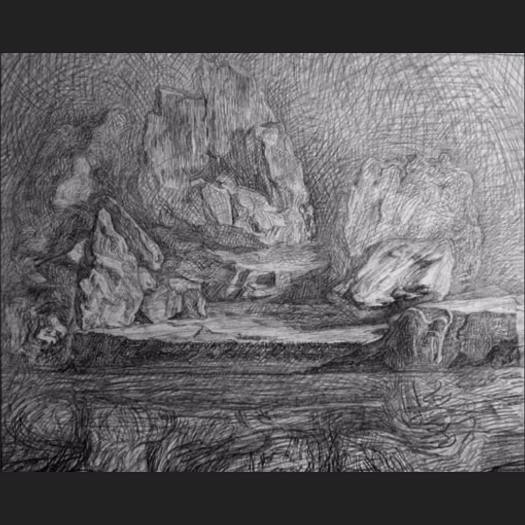 newberry_rock_study_pond_graphite