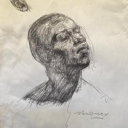 newberry_sketch_mans_head_ink