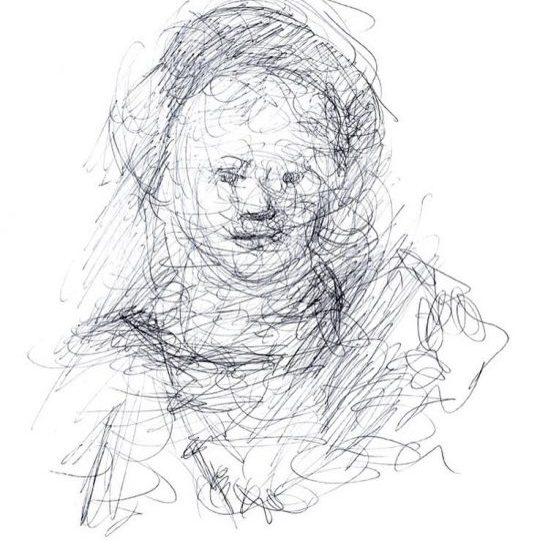 newberry_sketch_of_titus_rembrandt_ink