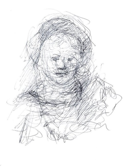 newberry_sketch_of_titus_rembrandt_ink