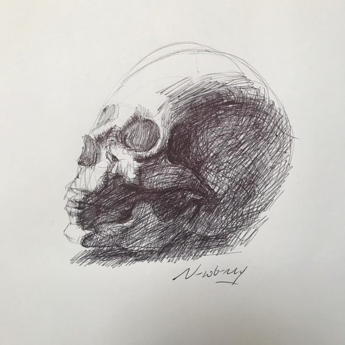 newberry_skull_study_kiss_ink