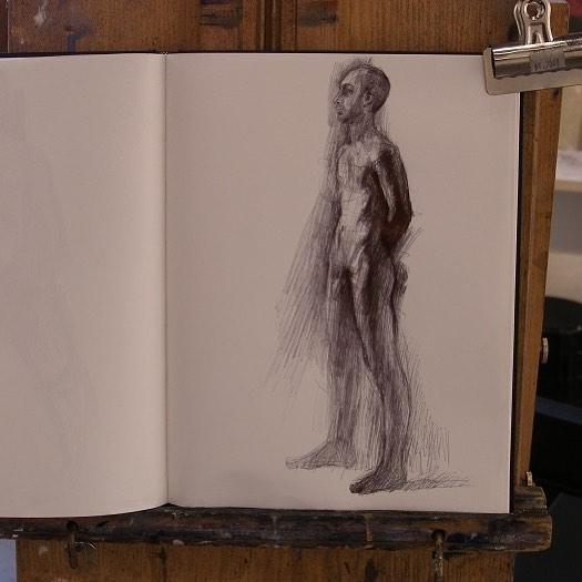 newberry_standing_man_notebook_ink