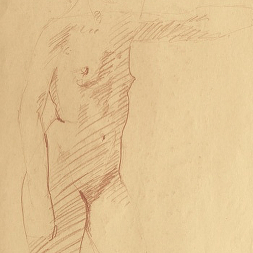 newberry_standing_woman_sketch_conte