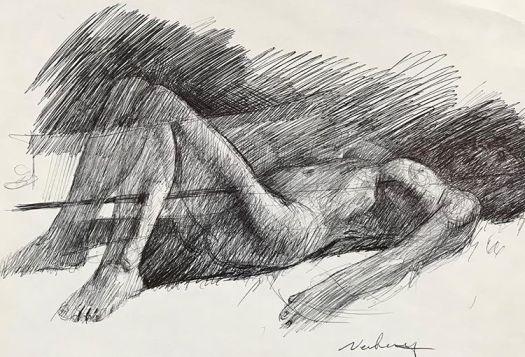 newberry_woman_reclining_ink
