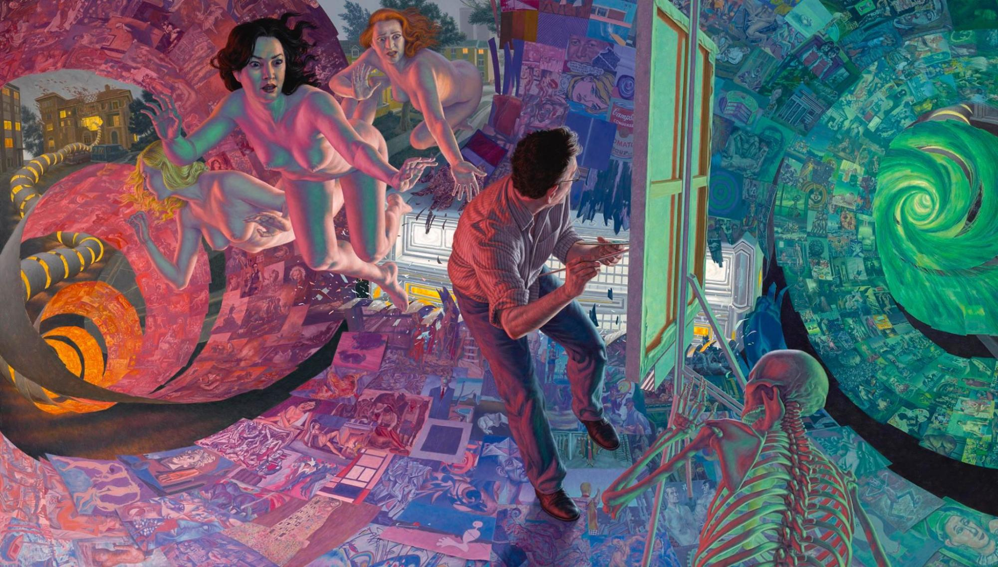 Dream of Art History by F. Scott Hess