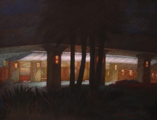 Newberry, 201 Ocean Ave, pastel