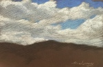 Newberry, Chalky Clouds, pastel