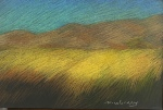 Newberry, Field of Gold, pastel