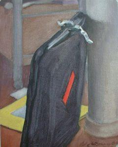 """Newberry, Portfolio, 2006, acrylic on panel, 10x8"""""""