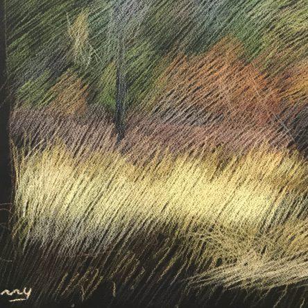 Newberry, Idyllwild Meadow, pastel