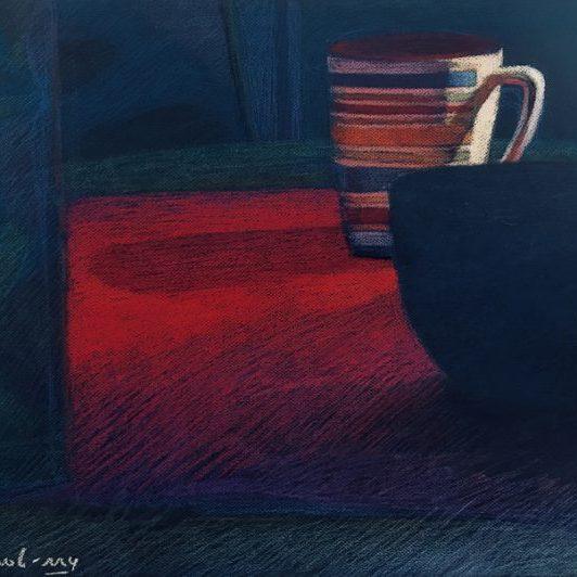"""Newberry, First Light, pastel, 18x24"""""""