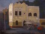 "Newberry, Mandraki, 2008, oil on panel, 9x12"""