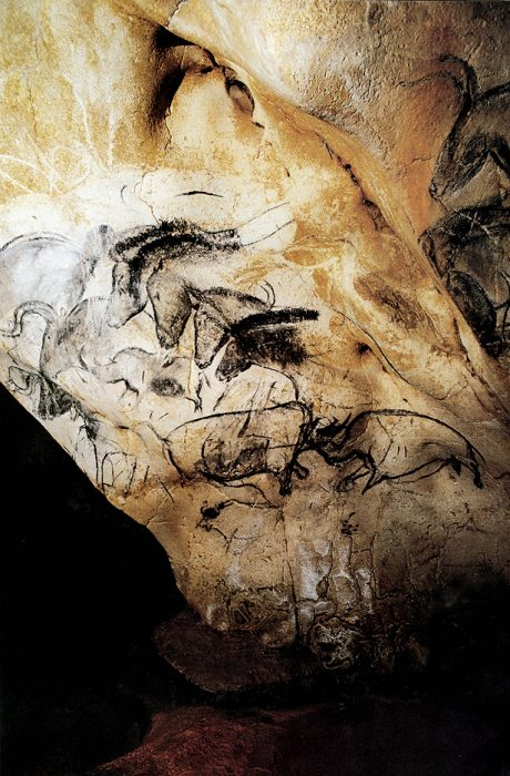 Chauvet Caves, Horses Heads, 32,000 BC