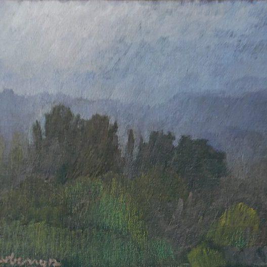 Newberry, Italian Countryside in Fog