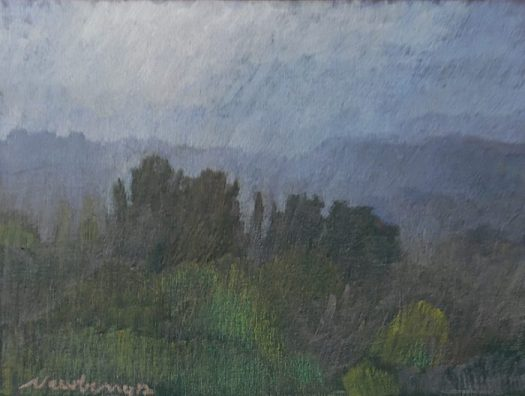 Newberry, Italian Countryside in Fog