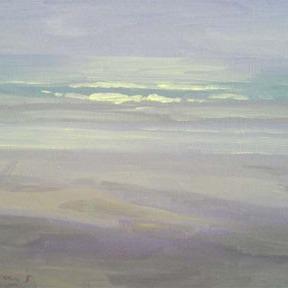 Newberry, California Beach at Sunset