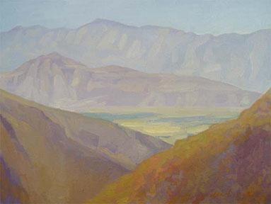 Newberry, Above Borrego Springs