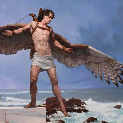 Larsen, Triumph of Icarus Study, 2008