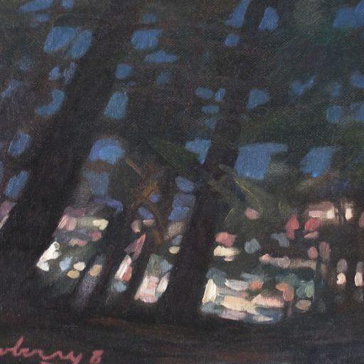 Newberry, Rhodes, Greece, Through the Pines