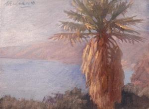 Newberry, California Beach, Santa Monica Palm