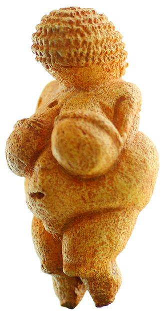 Willendorf Venus c. 28,000 BCE – 25,000 BCE Discovere 1908 near Willendorf, by Josef Szombathy, Naturhistorisches Museum, Vienna, Austria