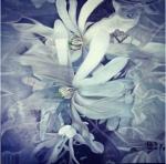 chanluu-floating-flowers-oil-on-canvas-2019