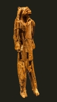 Lion-man of the Hohlenstein-Stadel Cave in Germany, 40-35,000 B.C. First known figurative art. Ivory.