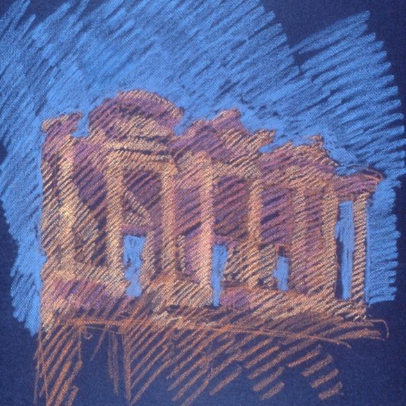 newberry-ephesus-1988-pastel-on-paper-18x24