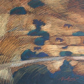newberry-goats-1988-pastel-on-paper-18x24