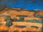 newberry-golden-slope-1988-pastel-on-paper-18x24