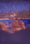 newberry-mykanos-1988-pastel-on-paper-18x24
