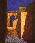 newberry-next-door-1988-pastel-on-paper-18x24