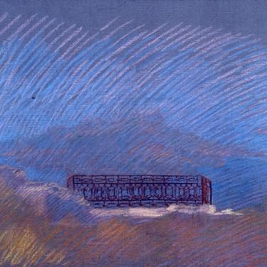 newberry-santorini-balcony-1988-pastel-on-paper-18x24