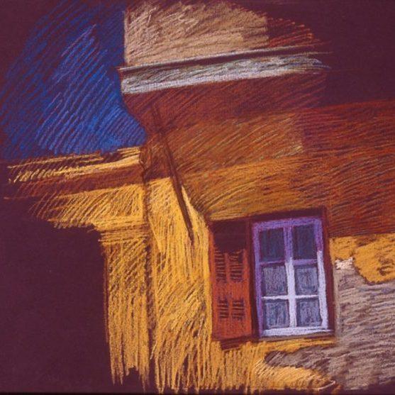 newberry-turkish-balcony-1988-pastel-on-paper-18x24
