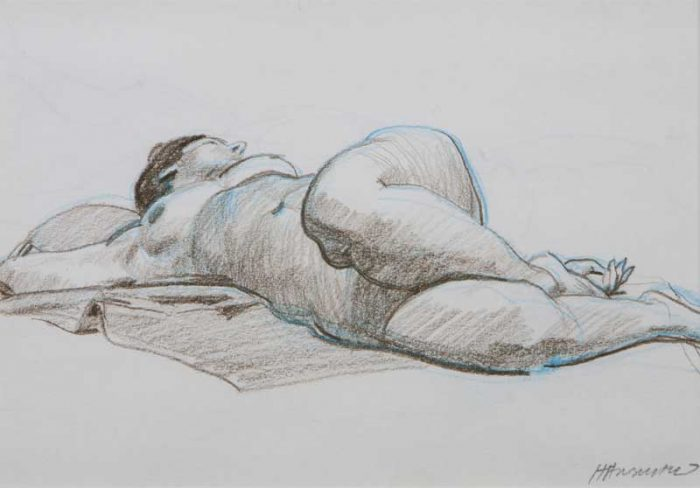 Kelly-reclining-nude-with-blue