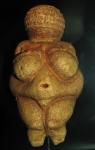"""Venus of Willendorf, 28,000 BC, 4 ⅜"""", limestone, Austria"""