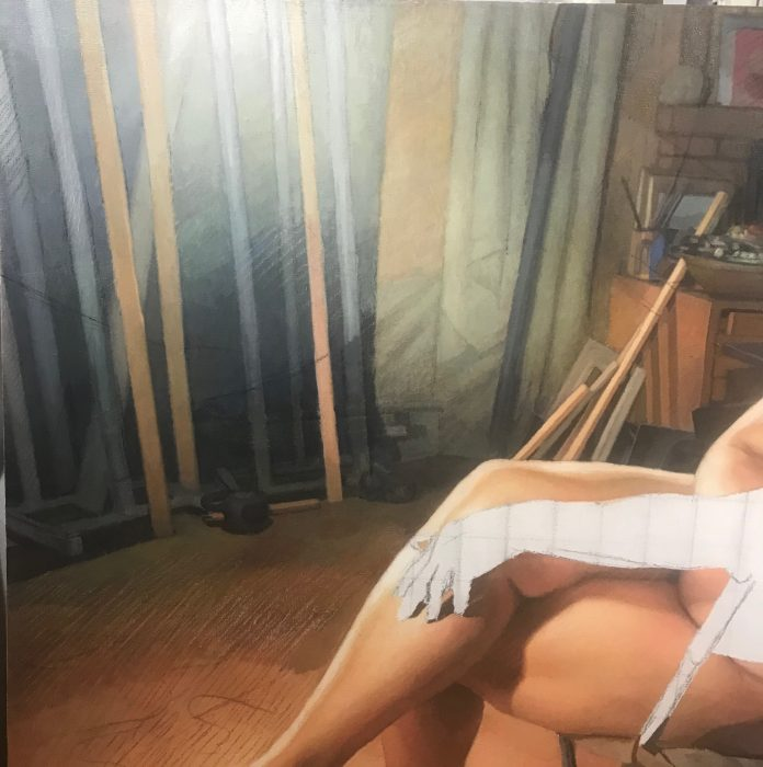 Newberry, Model in the Studio, wip, detail
