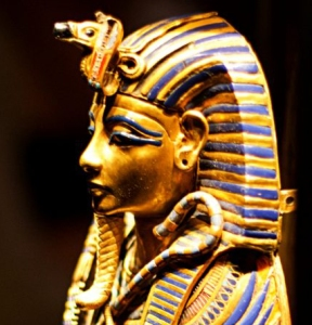Mask of Tutankhamen (profile)