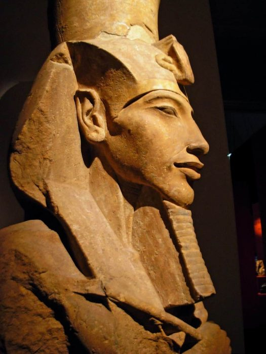 Akhenaten, I will be writing about him and Thutmose in my book, Newberry: Evolution Through Art