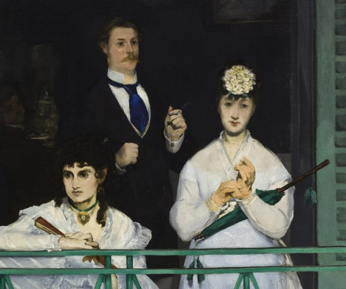 Edouard Manet The Balcony notice their hands!