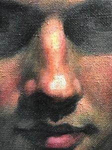 Newberry, Facing Oblivion, detail 1