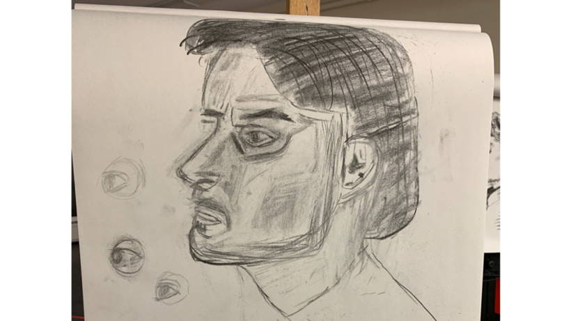 Siebel, Harvard instructor life drawing