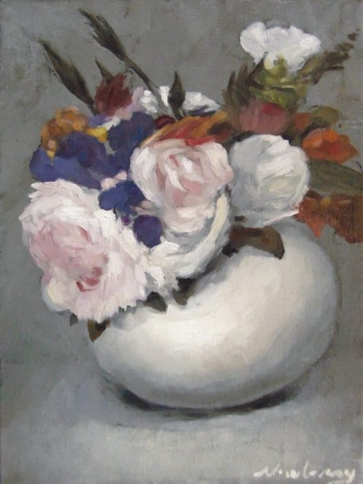 Newberry, Gift from Manet, oil on canvas, my free interpretation