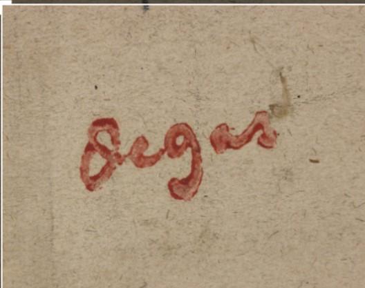 Degas signature