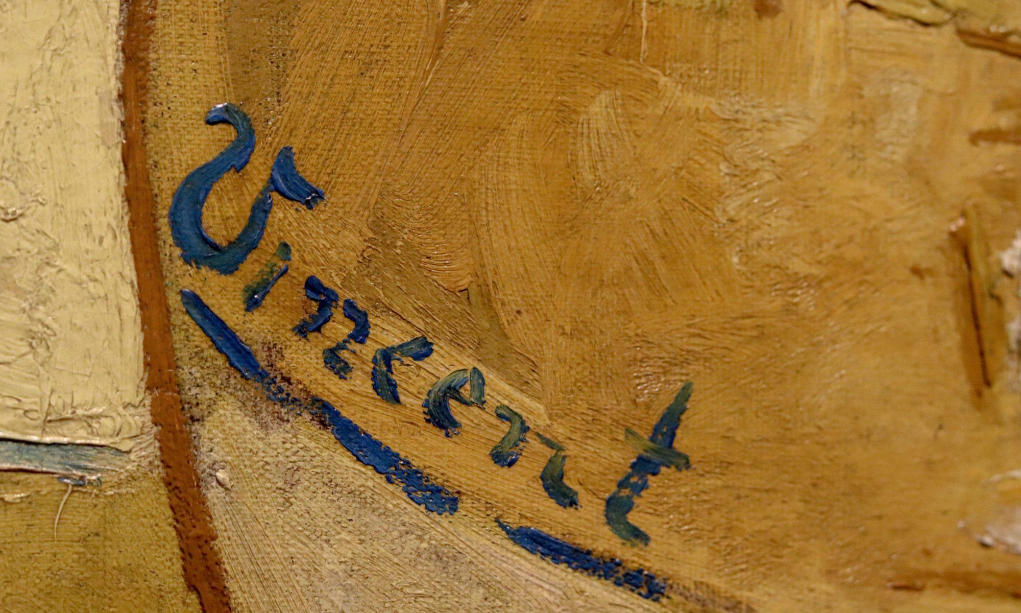van gogh signature