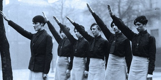 Blackshirt member of the British Union of Fascists