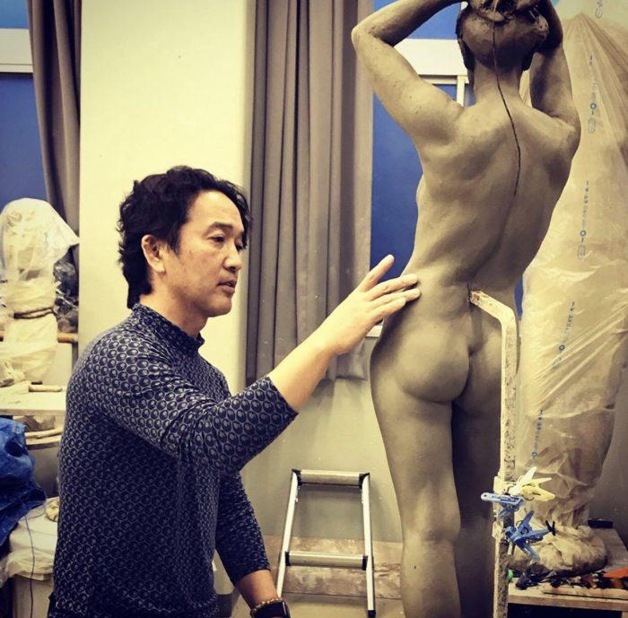 Hironori Kiyoshima female nude wip