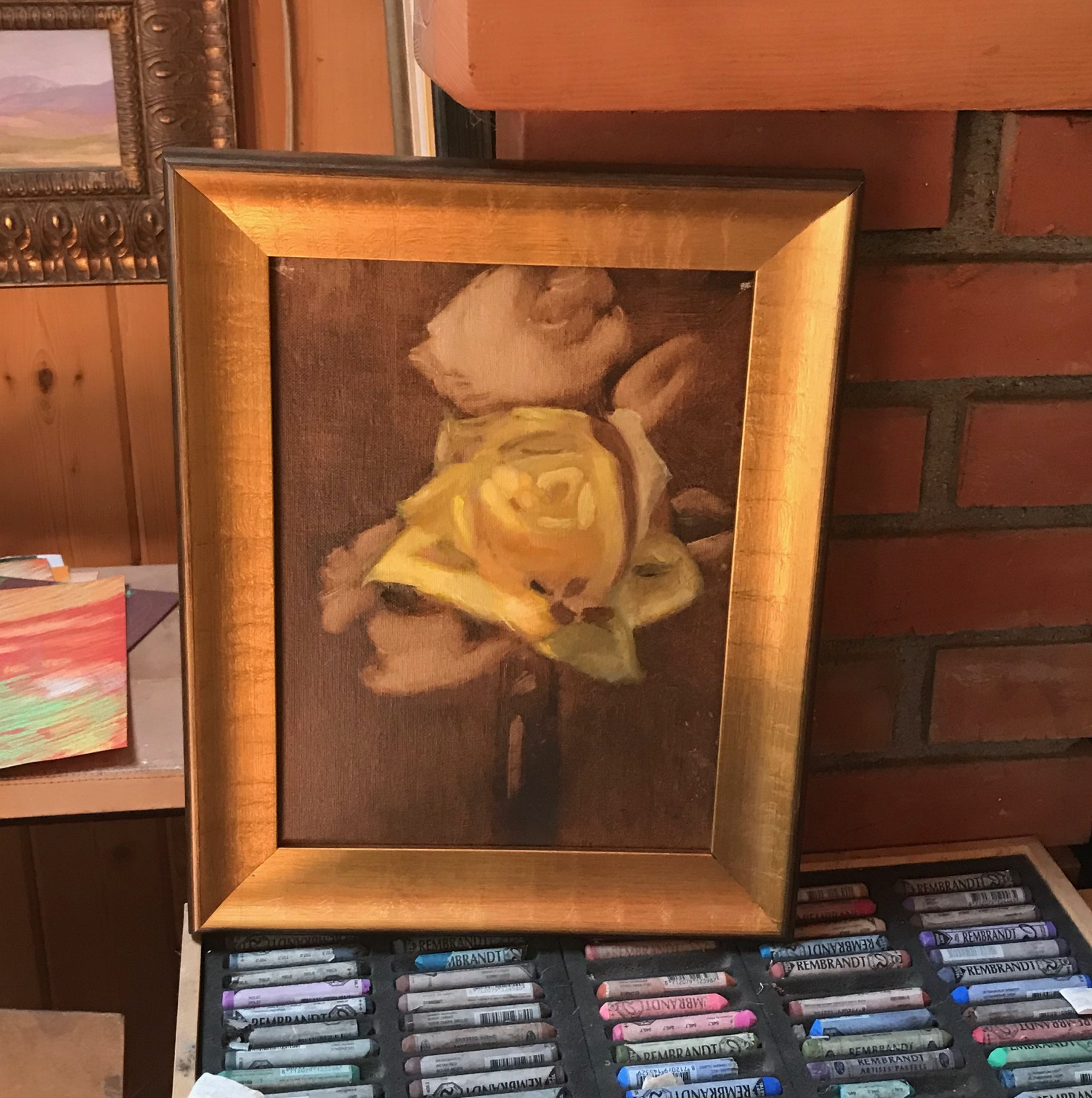 Yellow Rose by Susan Surber